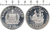 Изображение Монеты Самоа 10 долларов 1996 Серебро Proof-