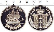 Изображение Монеты Ниуэ 10 долларов 1992 Серебро Proof-