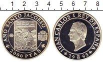 Изображение Монеты Европа Испания 2000 песет 1993 Серебро Proof