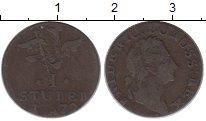 Изображение Монеты Германия Пруссия 1 стюбер 1779 Серебро VF