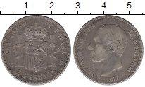 Изображение Монеты Испания 2 песеты 1881 Серебро XF-