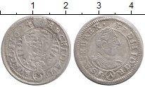 Изображение Монеты Австрия 3 крейцера 1624 Серебро VF