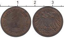 Изображение Монеты Германия 1 пфенниг 1907 Медь XF