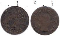 Изображение Монеты Франция 2 турнуа 1652 Медь VF