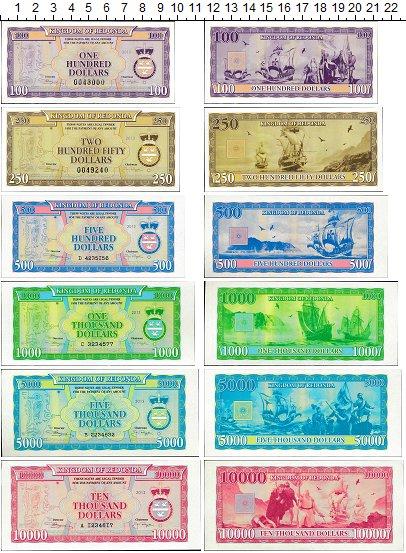 Изображение Банкноты Редонда Набор из 6 бон 2013  UNC