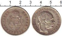 Изображение Монеты Европа Венгрия 1 форинт 1888 Серебро XF