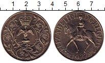 Изображение Монеты Европа Великобритания 25 пенсов 1977 Медно-никель XF