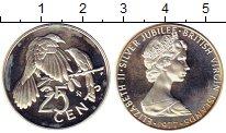 Изображение Монеты Виргинские острова 25 центов 1977 Медно-никель Proof-