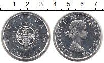 Изображение Монеты Канада 1 доллар 1964 Серебро UNC