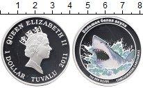 Изображение Монеты Австралия и Океания Тувалу 1 доллар 2011 Серебро Proof
