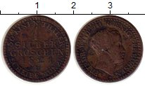 Изображение Монеты Пруссия 1 грош 1821 Серебро VF