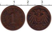 Изображение Монеты Германия 1 пфенниг 1892 Медь XF-