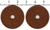 Изображение Монеты Великобритания Родезия 1 пенни 1947 Бронза XF
