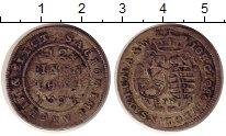 Изображение Монеты Германия Саксония 1/12 талера 1694 Серебро VF