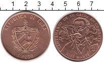 Изображение Монеты Куба 1 песо 1995 Медь UNC- 100  лет  со  дня  с