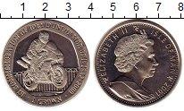 Изображение Монеты Остров Мэн 1 крона 2001 Медно-никель UNC-