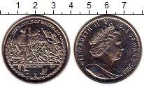 Изображение Монеты Великобритания Остров Мэн 1 крона 2006 Медно-никель UNC-