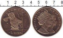 Изображение Монеты Остров Мэн 1 крона 2012 Медно-никель UNC- Олимпиада 2012 в Лон