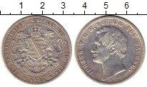 Изображение Монеты Германия Саксония 1 талер 1864 Серебро VF+