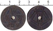 Изображение Монеты Бельгия 25 сантим 1942 Цинк XF Оккупация.