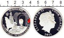 Изображение Монеты Новая Зеландия Острова Кука 10 долларов 2011 Серебро Proof