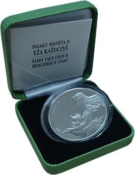 Изображение Подарочные монеты Латвия 5 евро 2016 Серебро Proof
