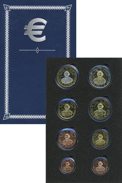 Изображение Подарочные монеты Европа Мальта Европроба 2003 2003  UNC