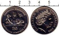 Изображение Монеты Австралия 20 центов 2014 Медно-никель UNC-