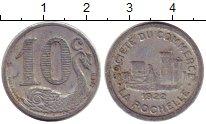 Изображение Монеты Европа Франция 10 сантим 1922 Алюминий XF-
