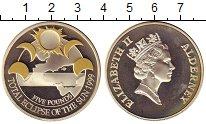 Изображение Монеты Великобритания Олдерни 5 фунтов 1999 Серебро Proof-