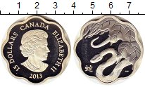 Изображение Монеты Канада 15 долларов 2013 Серебро Proof- Змея