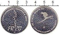 Изображение Монеты Швейцария 20 франков 2003 Серебро UNC