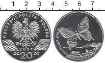 Изображение Монеты Польша 20 злотых 2001 Серебро Proof