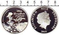 Изображение Монеты Ниуэ 2 доллара 2015 Серебро Proof