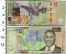 Изображение Банкноты Северная Америка Багамские острова 1 доллар 2017  UNC