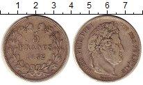 Изображение Монеты Европа Франция 5 франков 1832 Серебро XF-