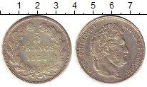 Изображение Монеты Европа Франция 5 франков 1834 Серебро XF-