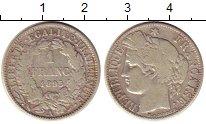 Изображение Монеты Европа Франция 1 франк 1895 Серебро XF-