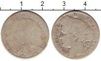 Изображение Монеты Франция 1 франк 1872 Серебро F