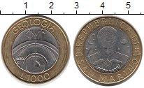 Изображение Монеты Сан-Марино 1000 лир 1998 Биметалл UNC- Геология.