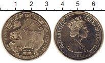 Изображение Мелочь Гибралтар 3 фунта 2013 Медно-никель UNC-