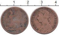 Изображение Монеты Европа Великобритания 1 фартинг 1886 Медь VF
