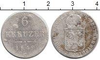 Изображение Монеты Европа Австрия 6 крейцеров 1849 Серебро VF