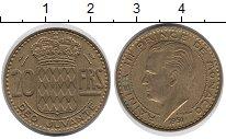 Изображение Монеты Европа Монако 20 франков 1951 Латунь XF