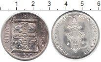Изображение Монеты Европа Ватикан 500 лир 1977 Серебро UNC-