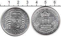 Изображение Монеты Европа Сан-Марино 1000 лир 1985 Серебро UNC-