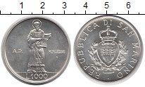 Изображение Монеты Сан-Марино 1000 лир 1987 Серебро UNC-