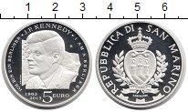 Изображение Монеты Европа Сан-Марино 5 евро 2013 Серебро Proof