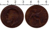 Изображение Монеты Европа Великобритания 1 пенни 1919 Бронза VF