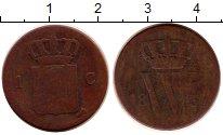 Изображение Монеты Нидерланды 1 цент 1837 Медь VF
